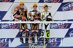 Podium 125GP-Jerez