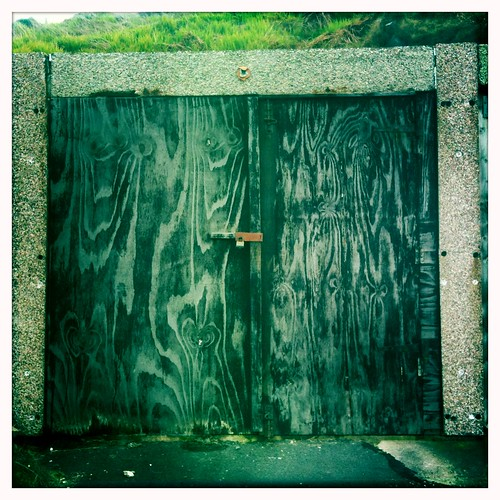 Garage Door by the Sea II