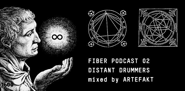 FIBER Podcast 02 – Distant Drummers (mixed by Artefakt) (Image hosted at FlickR)