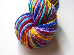 *24hr  Auction* Celtic Rainbow Titan Twist Merino Yarn