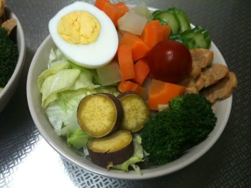 朝食サラダ(2011/4/19)