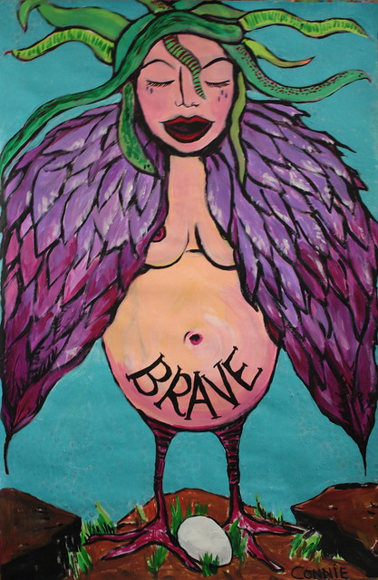 FEARLESS™  Painting for Jessie (full size)
