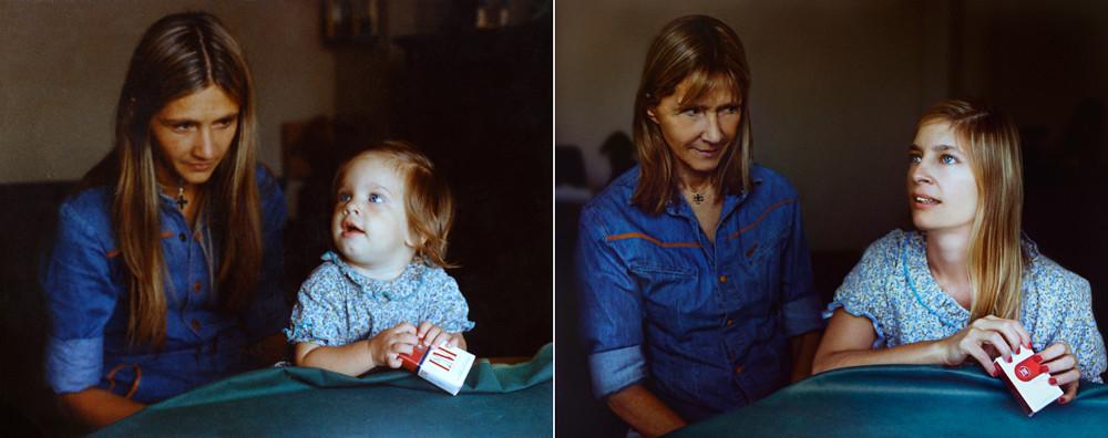 MARITA & COTY IN 1977 & 2010, Bueno