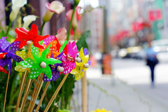 Pinwheels /  (Explored) (. Jianwei .) Tags: windmill vancouver yaletown pinwheels a500 jianwei explored kemily ringexcellence