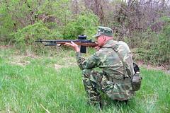 100_4307 (cowboy chris bbq) Tags: cute sexy hat usmc model marine gun photoshoot calendar boots modeling military rifle models columbia camo mo cap cover missouri blonde posters casual camoflage m14 booniehat cowboychrisbbq