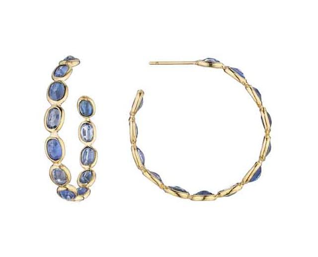 Paolo Costagli Ombre Hoops Blue Sapphire