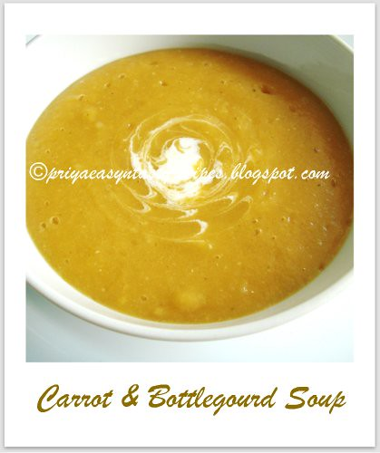 Carrot & Bottlegourd Soup