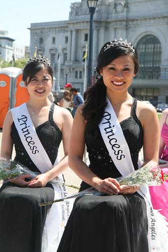 Cherry Blossom Festival: Pagaent Princesses