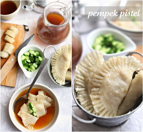 (Indonesian Food) Pempek Pistel