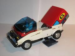 inspector gadget bandai 1983 changing car to van d (tjparkside) Tags: 1983 bandai inspectorgadget gadgetmobile gadgetvan