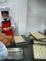 Dumpling production