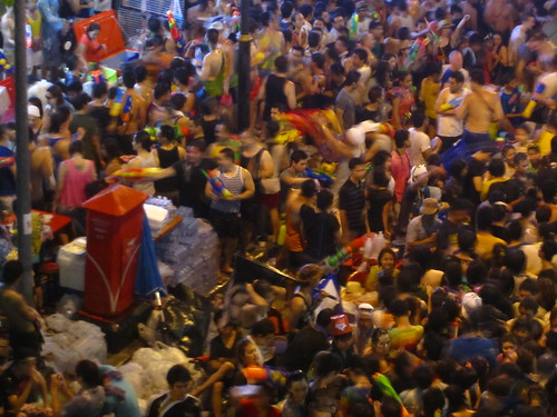 Songkran day 1: Silom