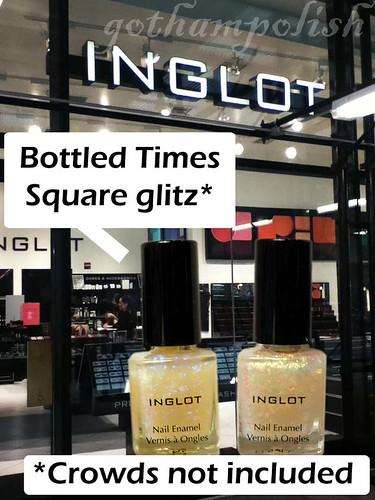 Inglot polish Times Square