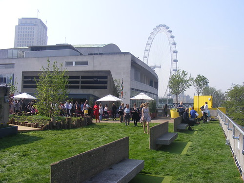 Rooftop garden at Queen Elizabeth Hall
