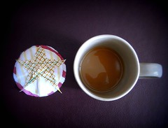 Coaster, Breakfast tea (leekf7) Tags: coaster breakfasttea