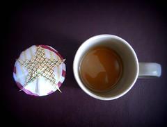Coaster, Breakfast tea (leekf7) Tags: coaster breakfasttea