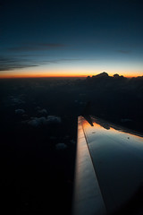Flying Back to NYC (joe holmes) Tags: sunset clouds wing jet aerial jetwindow