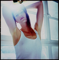 Shine a little love (__Daniele__) Tags: light portrait 120 6x6 film fuji hasselblad analogue provia 100f