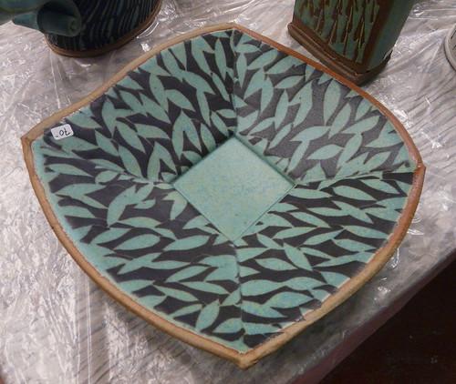 Hayne Bayless handbuilt plate