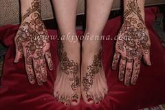 jenny bridal henna 2 (Akiyohenna) Tags: feet tattoo design bridalshower hand arm indian bridal henna mehendi temporary bodyart mehndi temporaryart specialoccasion mehandi mhendi akiyohenna temporarybodyart