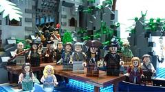 Pirates of the Caribbean (Legoagogo) Tags: lego mermaids minifigs piratesofthecaribbean chichester moc afol blackbeard jacksparrow willturner hectorbarbosa