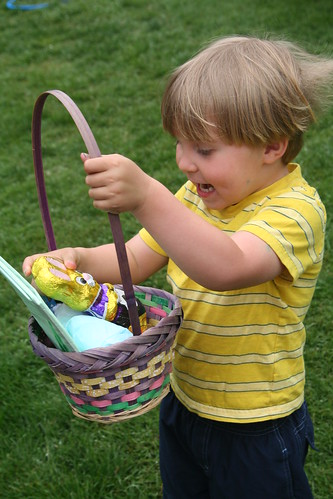 Asher Finds His Chocolate Bunny!