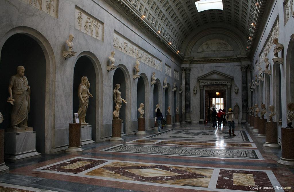 Le Braccio Nuovo, Musée Chiaramonti