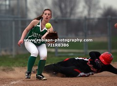 7I1R8386 (warren.robison) Tags: girls sports girl sport ball out photography action central first indiana christian highschool varsity softball bethesda pitcher triton basemen filder fairland ihsaa