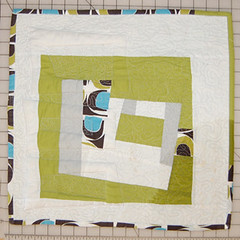 FinishedBlockQuilt (ReannaLilyDesigns) Tags: modern sewing howto quilting tutorial blogpost meandering trapunto freemotionquilting reannalilydesigns