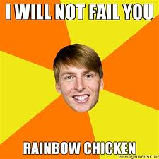 Kenneth Rainbow Chicken