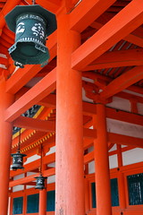 Heian Shrine (nekineko) Tags: red japan spring kyoto shrine asia shinto jinja vermilion heian shintoism