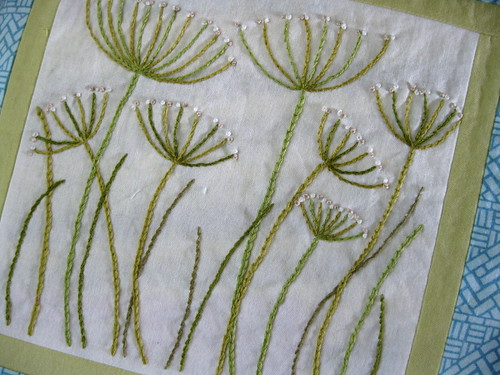 embroidery pattern from The New Crewel