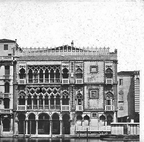 Palazzo Ca d'Oro, Venise, Italie