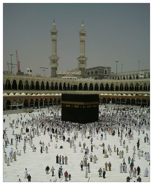 Noon time at Kaabah