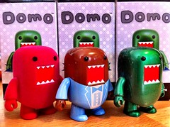 The New Guys! (MAPow/MaryAnne) Tags: pink blue green urbanoutfitters tuxedo domo emerald iphone specialedition