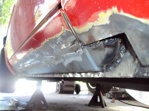 Repairing Rocker Panel Rust Xweb Forums V3