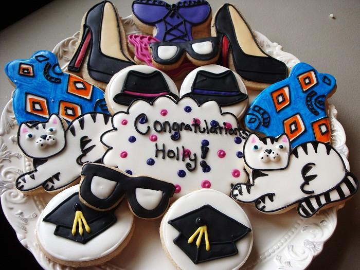 Fashion Grad Cookies