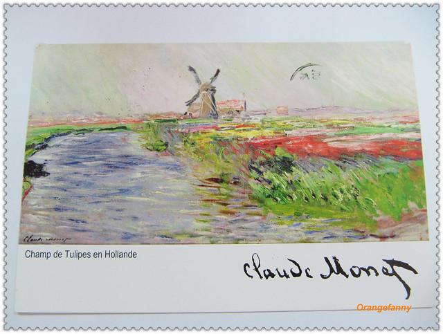 110429 來自莫內的明信片