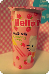Hello Kitty Biscuits with Strawberry Cream Pocky (Moon Memento    ) Tags: japan japanese strawberry hellokitty sanrio collection collections pocky biscuits japanesesnacks strawberrycream asianfoodgrocer 2011  hellokittypocky hellokittyfood  hellokittysnacks hellokittystrawberry