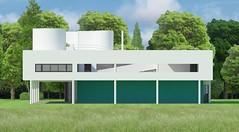 V.Savoye render east facade