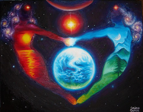 Cald si rece - Complementaritate - Iubire cosmica. - Suflete pereche si planeta Pamant - Iubirea globala