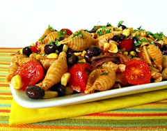 Spicy Southwest Pasta Salad (CinnamonKitchn) Tags: chile food recipe salad corn tomatoes pasta spicy blackbeans texmex culinaryphotography