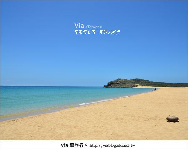 【澎湖沙灘】山水沙灘,遇到菊島的夢幻海灘!13