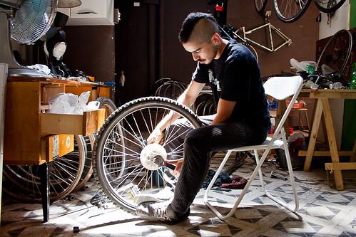 Café la bicicleta: Theo