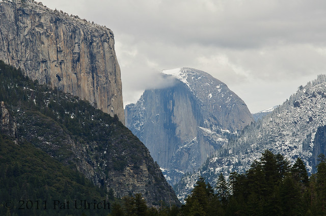 El Capitan and Half Dome - Pat Ulrich Wildlife Photography