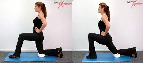 Kneeling Hip Flex Stretch