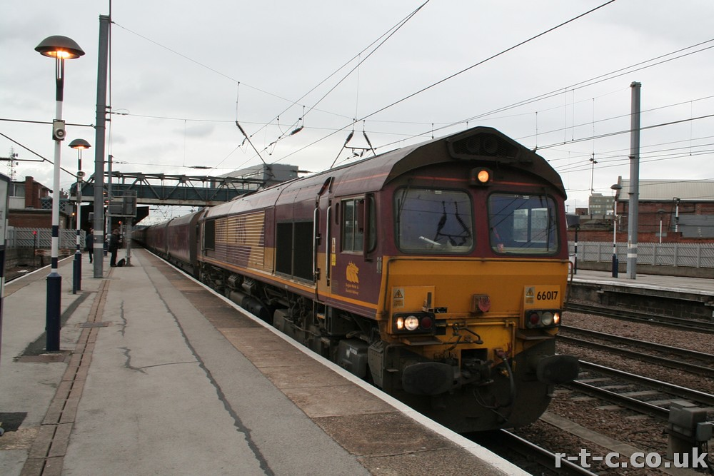 66017 trundles south