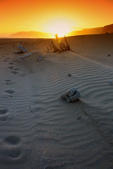 Sunset Footprints (Jurjen Harmsma Photography) Tags: sunset holiday southafrica landscapes vakantie zonsondergang colours roadtrip naturereserve filters robberg kleuren tsitsikama airscapes plettenbergbay