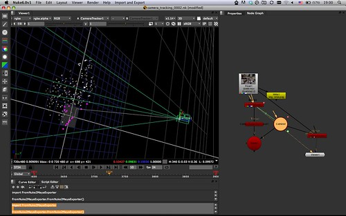 CameraTracker in Nuke: Step 3