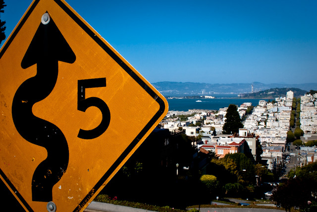 Lombart Street San Francisco